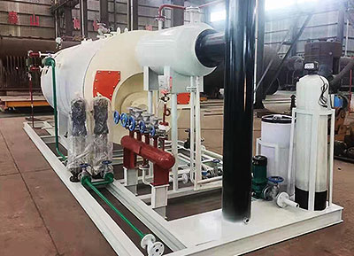 Skid-mounted Oil & Gas Boiler