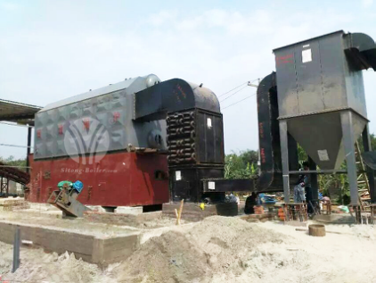 8ton SZL Series Chain Grate Steam Boiler
