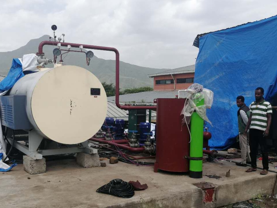 1745KW Electric Hot Water Boiler Used For