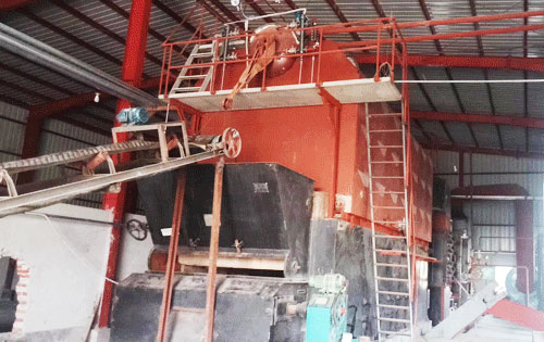 10t Coal Boiler Used for Paper Factory in Bangladesh